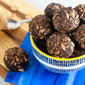 Crispy Chocolate Peanut Butter Energy Balls
