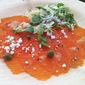 Copper River Salmon Carpaccio