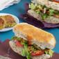 Veggie Delight Sub with Falafel
