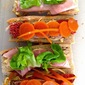 Vietnamese Banh Mi with Pickled Carrots