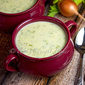 Cream of Broccoli Cheddar Soup