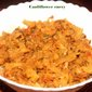 Spicy cauliflower masala recipe