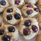 Lemon Curd Blueberry Cookies