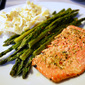 Easy One-Pan Salmon & Asparagus