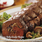 Beef Tenderloin with Mushroom Stuffing
