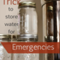 Monday Mission: Quick Trick for Storing Water for Emergencies