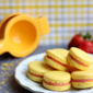Strawberry Lemonade Macarons #OXOSpringCleaning
