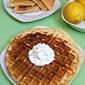 Gluten-Free Lemon Zest Waffles