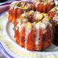 Orange & Pistachio Bundt Cakes