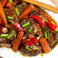 Slow Cooker Sichuan Beef & Carrots