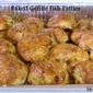 Baked Gefilte Fish Cakes