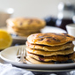 Blueberry Gluten Free Pancakes with Quinoa and Lemon + Giveaway