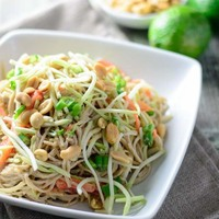 Thai Peanut Noodle Salad Recipe by Kellie - CookEatShare