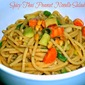 Weekend Gourmet Flashback: Spicy Thai Peanut Noodle Salad