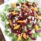 Spring Beet and Goat Cheese Salad with Walnuts