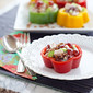 Chicken Salad in Bell Pepper Rings