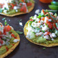 Scallop and Bay Shrimp Ceviche Tostadas