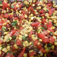 Mexican Black Bean and Corn Salad