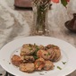 An Italian Classic gets a Twist. Pan Fried Baby Artichokes With Indian Spices