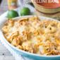 Five Ingredient Chicken Enchilada Tortellini Bake