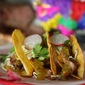 Honey Lime Pork Tacos with Sweet Green Chili Sauce