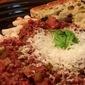 Spicy Beluga Pasta Sauce with Mushrooms and Wine