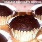 Eggless chocolate muffins recipe