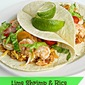 Lime Shrimp & Rice Tacos