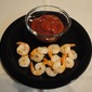 Roasted Shrimp with Dipping Sauce