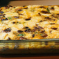 Low-Carb Breakfast Casserole with Asparagus, Mushrooms, and Goat Cheese (Gluten-Free)