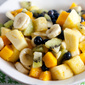 Tropical Fruit Salad with Vanilla and Lime (#BrunchWeek)