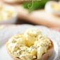 Horseradish Egg Salad Bagels
