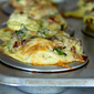 Breakfast Croissant Quiche Cups