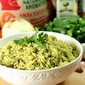 Cilantro and Serrano Rice