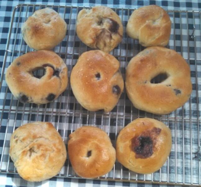 Blueberry Bagels Recipe by Juliaann - CookEatShare
