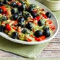 Artichoke Antipasto Salad with Basil Vinaigrette (Low-Carb, Gluten-Free, Paleo, Vegan)