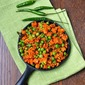 Fresh Green Peas & Carrot Curry with Coconut