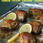 Crock Pot Lemon Pepper Chicken Thighs