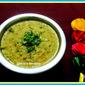 Hara Moong Dal Tadka / Hara Dal Fry / Green Gram Tadka