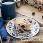Blueberry Buttermilk Breakfast Cake #bloggerCLUE