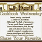 Cookbook Wednesdays and it's all about Washington (state)