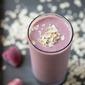 Strawberry Banana Oatmeal Protein Smoothie
