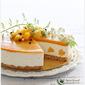 No-Bake Mango Yogurt Cheesecake 免考芒果优格芝士蛋糕