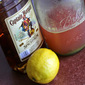 Captain Morgan's rhubarb sour