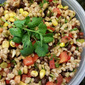 Southwestern Black Bean and Barley Salad