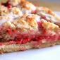 "(""Skookie"") Skillet Raspberry Crumb Bars"