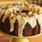 Hummingbird Bundt Cake with Cream Cheese Filling and Pineapple Cream Cheese Glaze