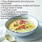 Recipe For Creamy Cauliflower Soup