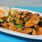 Thai Basil Chicken, Roasted Cauliflower and Fried Egg