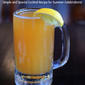 Beer Cooler Cocktail Recipe